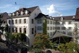 Teufelhof in Basel Aussenansicht