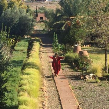 Menschen machen Orte 2/ Doris Nufer / Marokko / Ferme d´Akrich