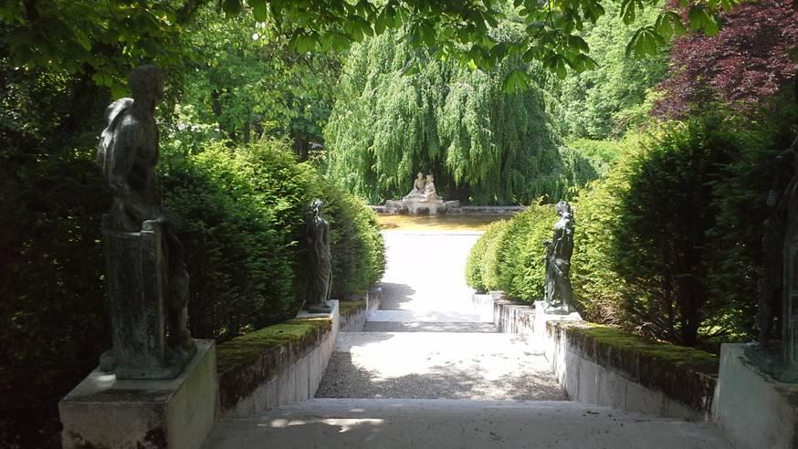 Parkanlage des Museums Oskar Reinhart am Römerholz.